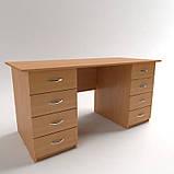 Стол рабочий с выдвижными ящиками СР-7. Письменные столы. Офисные столы, фото 5