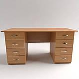 Стол рабочий с выдвижными ящиками СР-7. Письменные столы. Офисные столы, фото 4