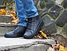 Мужские кожаные кеды кроссовки ботинки Forester 40-45р. кожа+флис