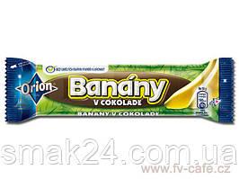 Шоколадный батончик (конфета) Banany Orion с банановой начинкой Словакия 45г