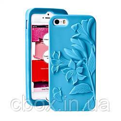 Чохол для iPhone 4/4S, колір блакитний, Ейвон, Avon, 33955