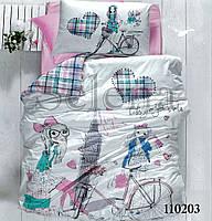 Путешественница подростковое постельное белье
