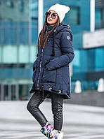 Женская стильная зимняя куртка в стиле casual staly (3 цвета) хаки, S