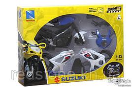 Мотоцикл Збірна модель SUZUKI 1:12 57005