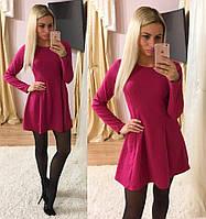 Женское модное платье А-силуэта (3 цвета)