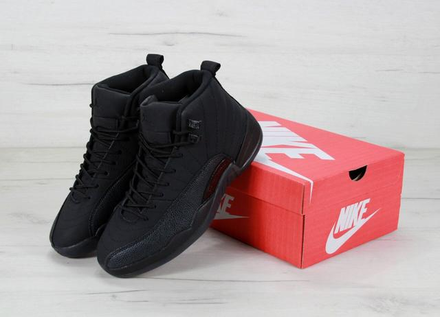 Air Jordan 12 Retro Ovo Black