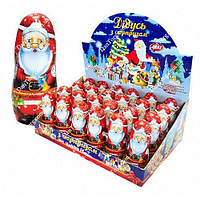 Шоколадная фигурка Дед Мороз 30 гр с сюрпризом