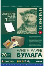Универсальная самоклеящаяся бумага LOMOND, неделенная, А4, 50л
