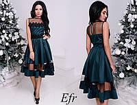 Нарядное платье женское № 244 в разных расцветках