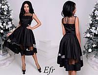 Платье женское черное нарядное. № 244 в разных расцветках