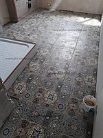 Полы из натурального камня и керамической плитки