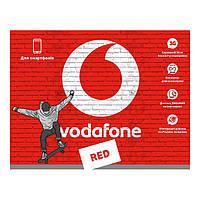 Стартовый пакет VODAFONE RED S