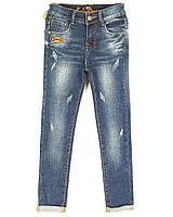 Подростковые демисезонные джинсы на девочку стретч 2223 (25-30 юниор, 6 ед.) Gomez, фото 1