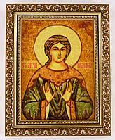 Икона Надежда из янтаря