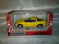 Машинка KINSMART KT 5320W CHEVROLET CORVETTE Z06 2007 1:36