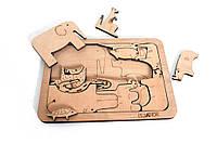 Рамка-вкладыш «Сафари», игры для развития