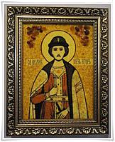 Икона Игорь из янтаря