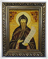 Икона Кирил из янтаря