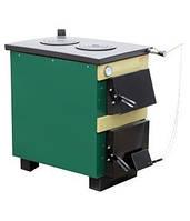 Котел твердотопливный ТИВЕР АКТВ- 18 кВт+ плита (регулятор тяги)