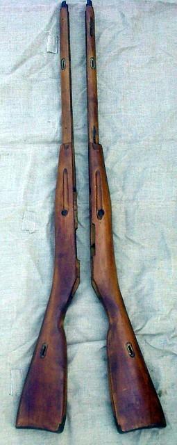 Ложе винтовки мосина