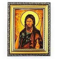 Икона Иоан Предтеча из янтаря