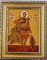 Икона Никита из янтаря