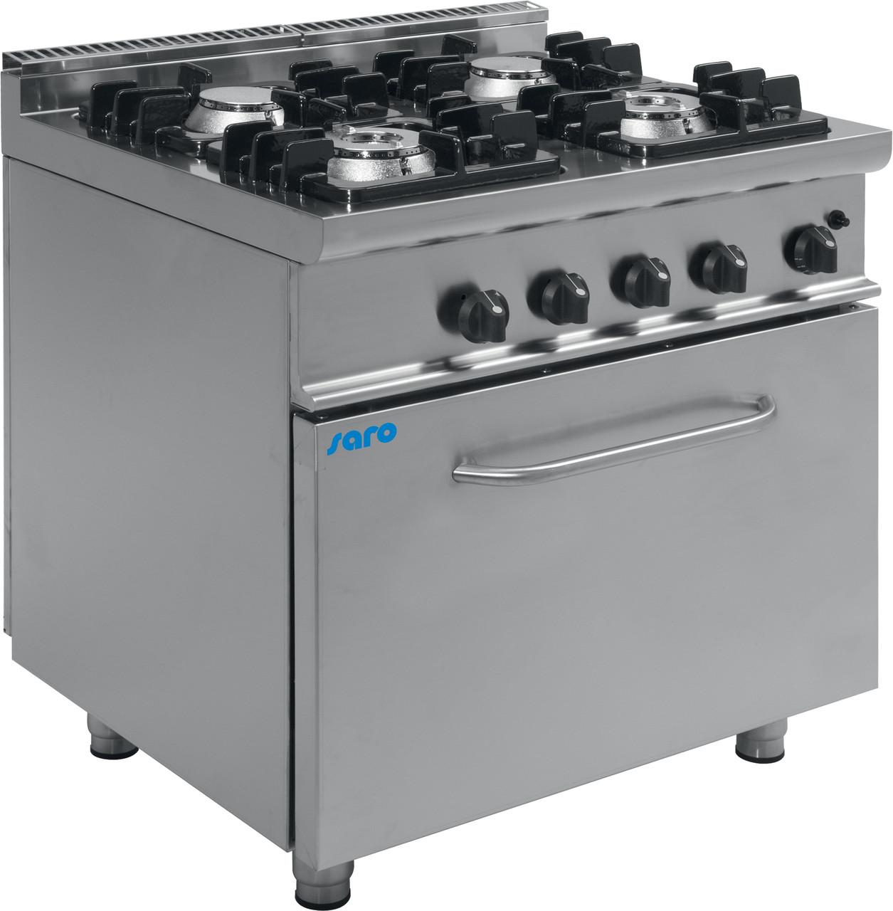 Газовая плита с газовой духовкой E7 / KUPG4LO Saro