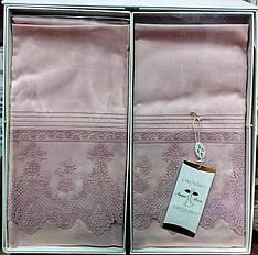 Комплект постельного белья Amour Paris Solo евро розовый