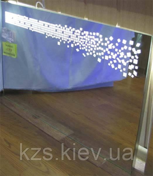 Зеркало с LED подсветкой 500х800