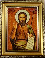 Икона Иван из янтаря