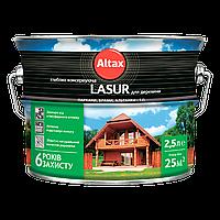 Лазурь ALTAX LASUR для древесины глубоко-консервирующая