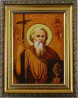 Ікона Андрій з бурштину
