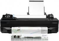 Принтер для цветной печати HP DesignJet T120 24'' с Wi-Fi (CQ891B)