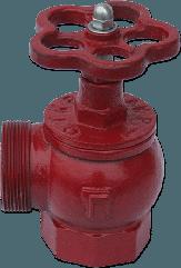 Кран (вентиль) пожарный угловой ДУ50