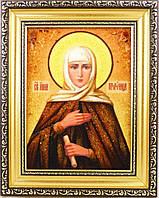 Икона Анна из янтаря