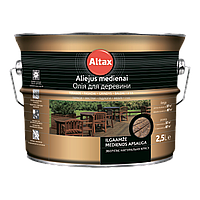 Лазурь ALTAX PROFI-LASUR с натуральным пчелиным воском