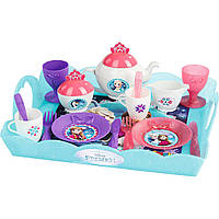 Smoby Чайный сервиз с подносом Frozen 310558