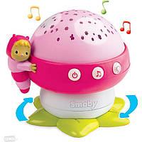 Smoby Музыкальный проектор Грибочек Cotoons 110109R
