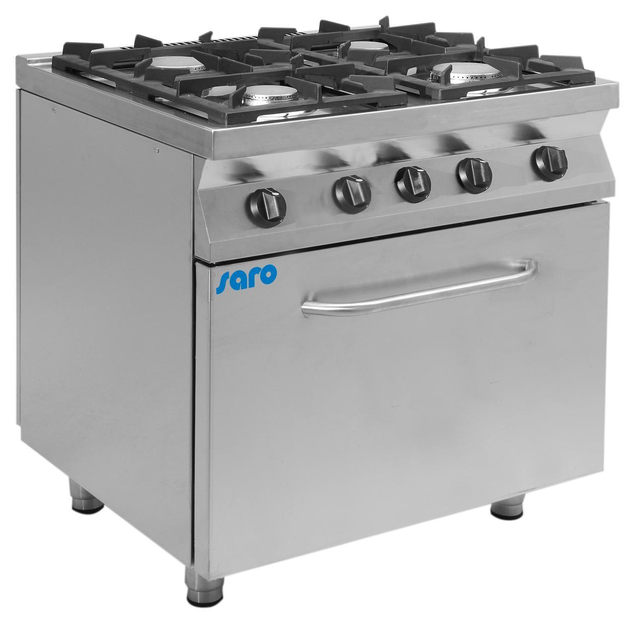 Газовая плита с газовой духовкой F7 / KUG4LE Saro