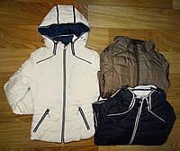 Плотная куртка на девочек Nature  9/10-15/16 лет. арт.RQG 3445, фото 1