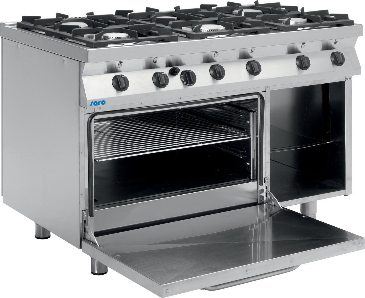 Газовая плита с газовой духовкой F7 / KUG6LE Saro