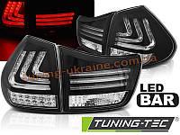 Задние фонари на Lexus rx 330/350 2003-2008 черные