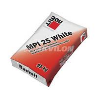 Штукатурная смесь Baumit МПІ-25 W, белая, 25кг