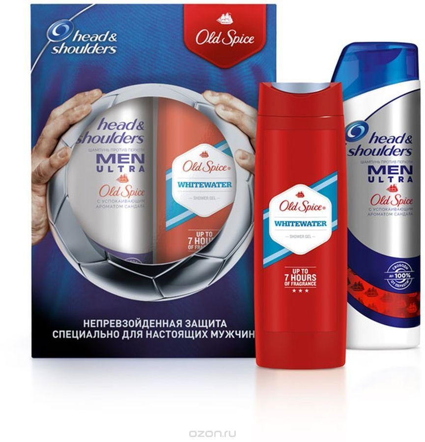 Подарочный набор Head & Shoulders Шампунь с ароматом Old Spice 400 мл + Гель для душа Old Spice Whitewater 250