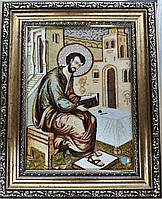 Икона Лука из янтаря