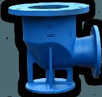Подставка под гидрант непроходная (односторонняя) чугун/сталь ДУ100/300 ППОФ