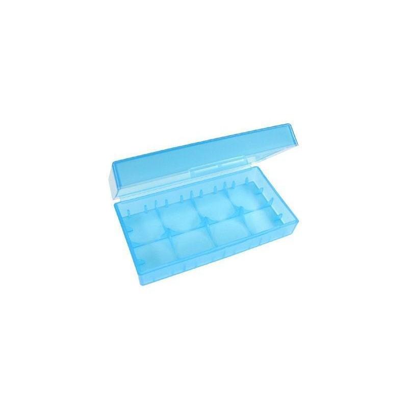 Пластиковый кейс для 2 аккумуляторов 18650