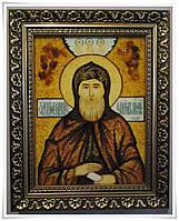 Икона Даниил из янтаря