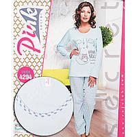 Комплект женский с принтом (штаны и кофта) Pink Secret Турция PK4204 cc93415898f78