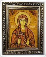 Икона Марина из янтаря